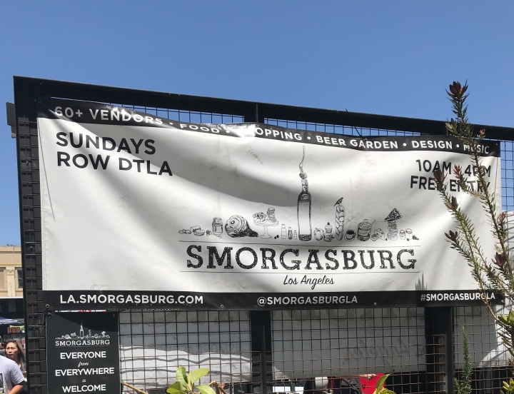 Smorgasburg LA / 11 month blog update