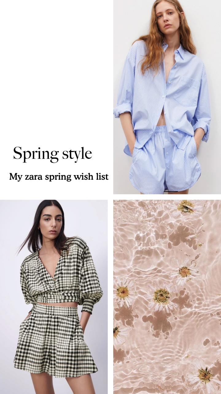 My spring Zara wish list